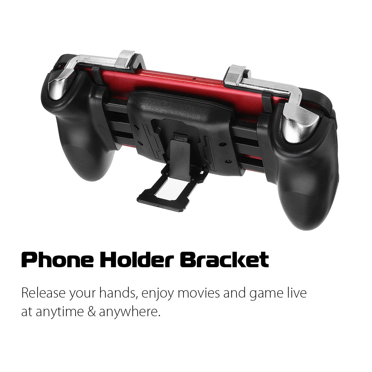 Pubg Mobile Joystick Controller With L1r1 Trigger And Gamepad The Streatchable