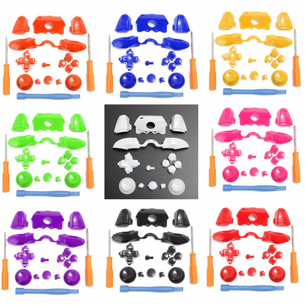 Bumpers Triggers Buttons pad LB RB LT RT for Xbox One Elite Controller black