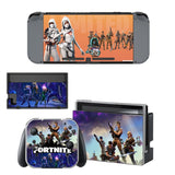 Fortnite Skin Sticker Set for Switch Console