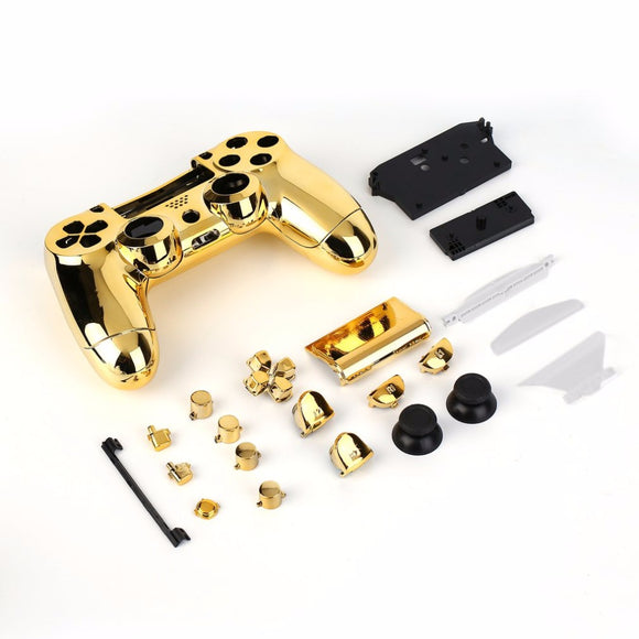Gold Full Housing PS4 Controller With Buttons