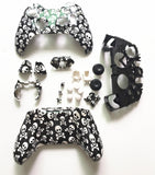 Custom Skull Design Controller Shell & Buttons Mod Kit Full set For Microsoft XBOX One Controllers Wireless Cover Skin Repair