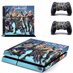 Fortnite Battle Royale Skin Sticker Set for PS4 Console.