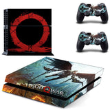God of War PS4 Skin Sticker for Sony PS4 PlayStation 4 and 2 controller skins 3