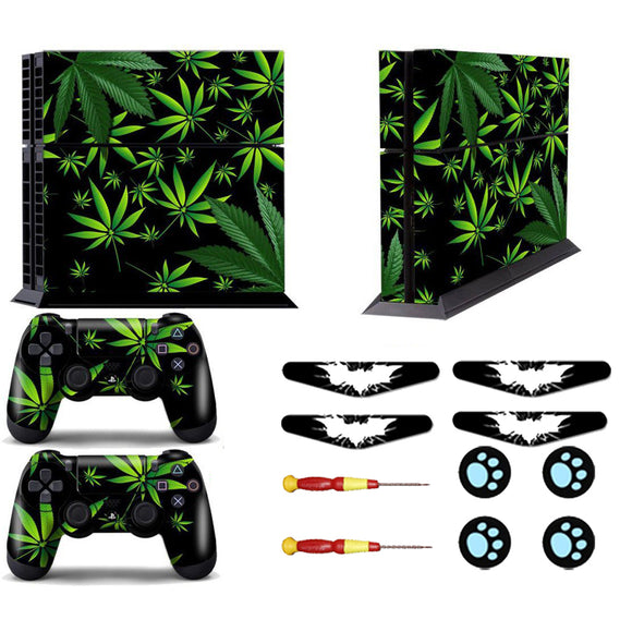 Green Leaf PS4 Skin decal