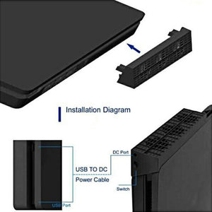 PS4 Slim External Cooling Fan System