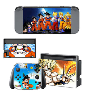 Dragon Ball Decal Skin Sticker For Nintendo Switch Console And Controller