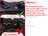 Custom Red Grave Skulls Full Housing Shell Case for XBox One Wireless Controller