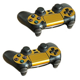 Gold Plated PS4 Controller Skin Stickers