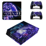 Destiny 2 Style PS4 Pro Console Sticker Skin Set