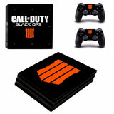 Call of Duty Black OPS 4 IV Skin Sticker Cover Set For Sony Playstation PS4 Pro
