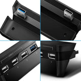 USB HUB Splitter for PS4 Slim Console