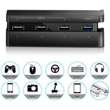 USB HUB Splitter Charger for PS4 Slim Console