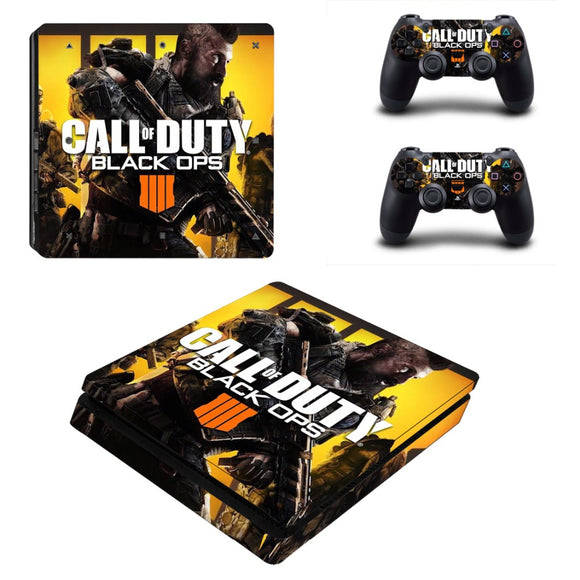 Call of Duty Black Ops 4 IV PS4 Slim Console Sticker