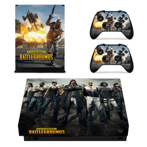 PUBG Playerunknown's Battlegrounds Style set skins for XBOX One X Console