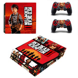 Red Dead Redemption II Decal Set for PS4 Pro Console