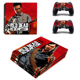 Red Dead Redemption 2 Sticker Set for PS4 Pro Console