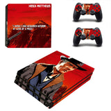 Red Dead Redemption II Sticker Set for PS4 Controller Pro Console