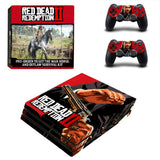 Red Dead Redemption II Sticker Set for PS4 Pro Console