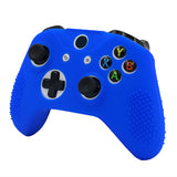 Blue Silicone Case Cover for Xbox One Slim Controller