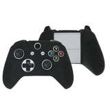 Black Silicone Case Cover for Xbox One Slim Controller