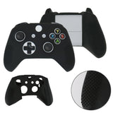 Black Silicone Case Cover Controller for Xbox One Slim