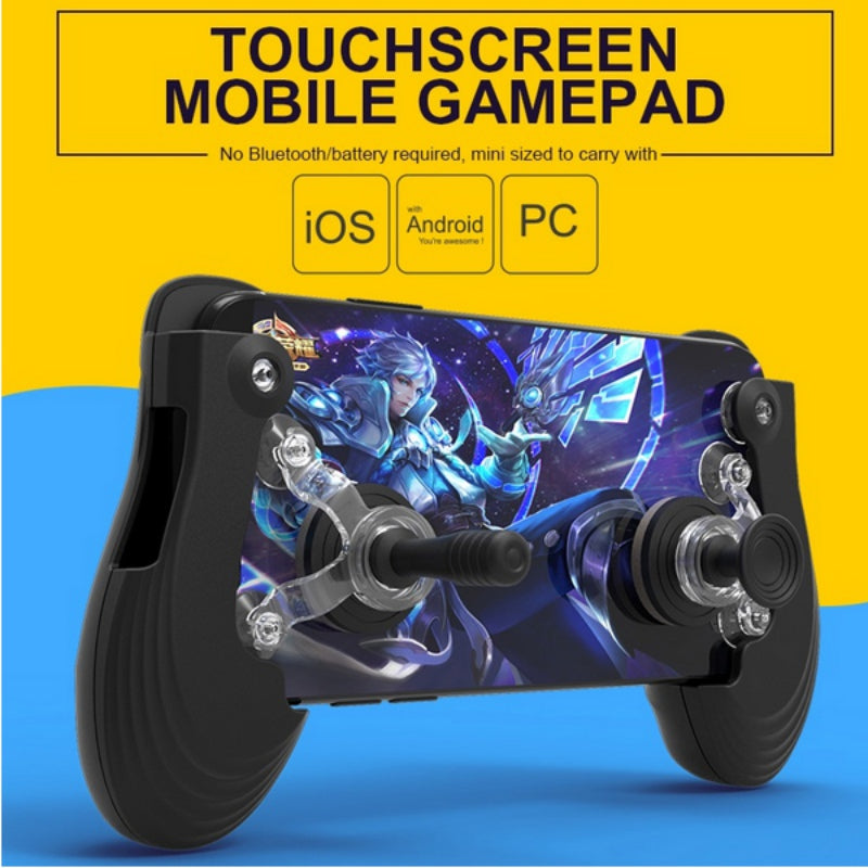 Touch Screen Mobile Controller Mini Gamepad Joystick For Ios