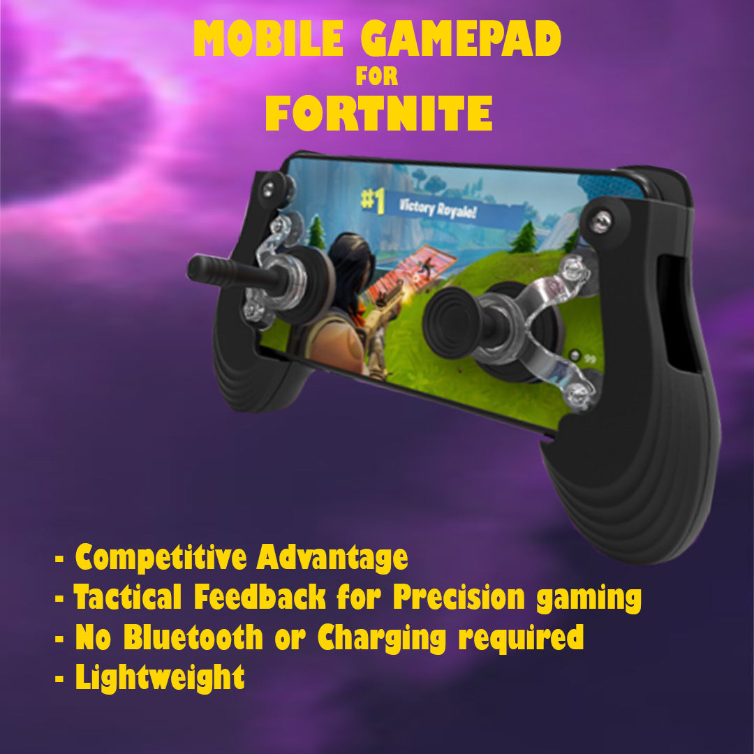 fortnite compatible mini controller joystick gamepad for ios android - compatible fortnite mobile