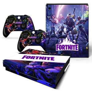Fortnite Berserker Skin Sticker Set for Xbox One X Consoles