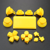 Yellow PS4 Slim PS4 Pro Controller Button Set