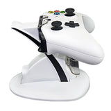 White USB Charging Dock Station for Xbox One/Xbox One S Controllers