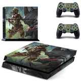 APEX Legend Bangalore Game PS4 Console Decal