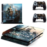 God of War PS4 Skin Sticker for Sony PS4 PlayStation 4 and 2 controller skins