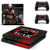 God of War PS4 Skin Sticker for Sony PS4 PlayStation 4 and 2 controller skins 1