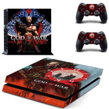 God of War PS4 Skin Sticker for Sony PS4 PlayStation 4 and 2 controller skins 6