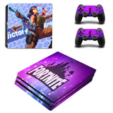 Fortnite Victory PS4 Pro Console Sticker Set