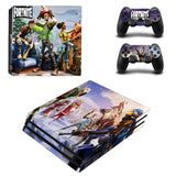 Ps4 Pro Fortnite Sticker Set for PS4 Pro Console