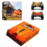 Fortnite Orange Skin Sticker for PS4 Pro Console