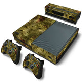 Camouflage Decal Skin Stickers For Xbox One Console