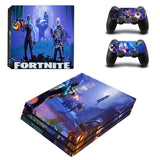 Fortnite Season 6 Ps4 Pro Controller and Console Stickers Set