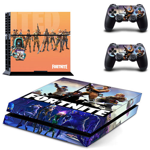 Fortnite Theme Skin Sticker Decal For Sony PlayStation 4