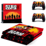 Red Dead Redemption 2 Sticker for PS4 Console Set
