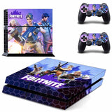Fortnite Battle Royale PS4 Full Skin Sticker for PS4 Console and Controller Sticker set