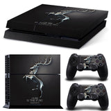 Winter is Coming Skin Sticker for PS4 Console + 2 Controller Skins