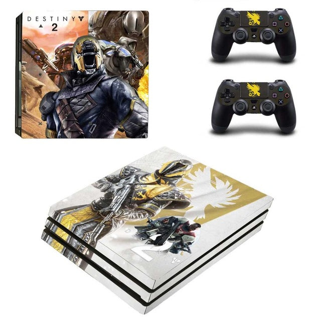 Destiny 2 Theme Skin Sticker Set for PS4 Pro Console – The