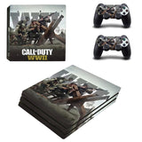 Call of Duty WWII  COD WWII PS4 Pro Console Skin Sticker PS4 Pro Skin Sticker Decal Controller