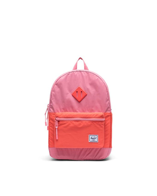 Heritage Backpack Youth - Flamingo Pink /Hot Coral Reflective