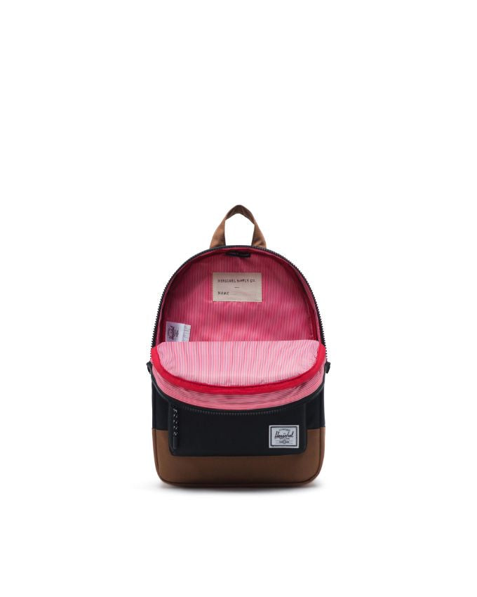 Heritage Backpack Kids - Black/Saddle Brown