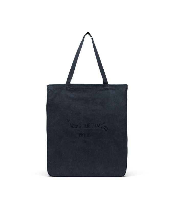 Long Tote Basquiat - Black