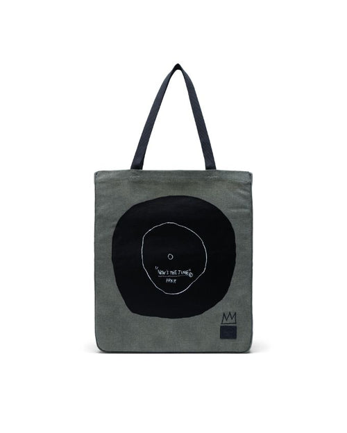 Long Tote Basquiat - Dark Olive