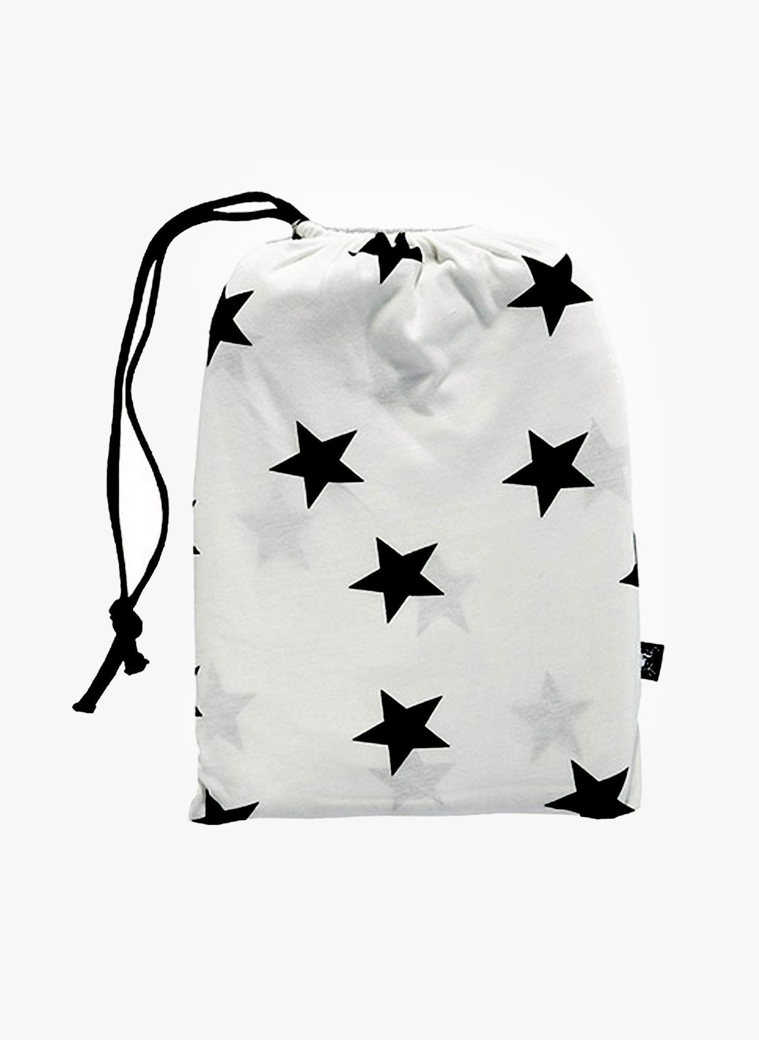 star baby blanket - white